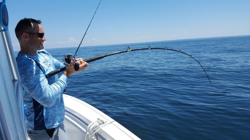 Deep sea fishing charters fort walton beach blue water for Fort walton beach fishing charters