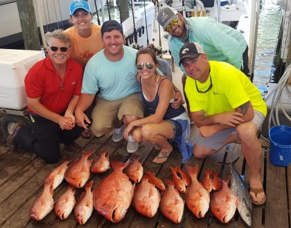 Red Snapper Season Opens 1 June